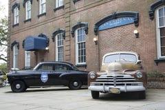 大草原Chatham大城市警察局 免版税库存照片