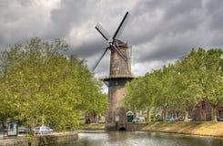 大荷兰风车 免版税库存图片