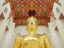 大菩萨在佛教教会里 库存图片