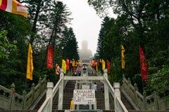 大菩萨在大屿山,香港 库存图片