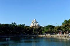 大菩萨雕象在市头顿 越南 库存图片