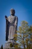大菩萨雕象在成田,日本 免版税图库摄影