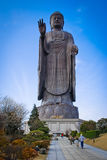 大菩萨雕象在日本 免版税库存照片