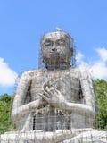 大菩萨雕象的建筑 图库摄影