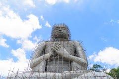 大菩萨雕象的建筑 库存照片