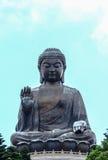 大菩萨雕象 免版税库存照片