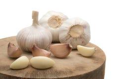 大蒜,小的大蒜,大蒜宏指令, gralic自然, garilc白色, g 免版税库存图片