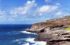 大蓝色夏威夷 免版税库存照片