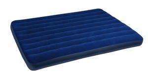 大蓝色床垫 免版税库存图片