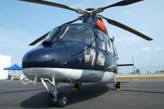 大蓝色直升机 免版税库存图片