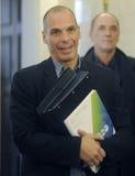 大藏大臣Yanis Varoufakis 免版税库存图片