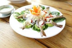 大虾鸡尾酒沙拉 库存照片