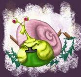 大蜗牛 图库摄影
