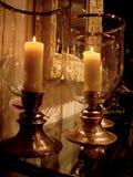 大蜡烛 库存照片