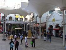 大街菲尼斯购物中心在孟买,印度 免版税图库摄影