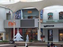 大街菲尼斯购物中心在孟买,印度 库存图片