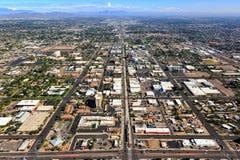 大街, Mesa,亚利桑那 免版税库存照片