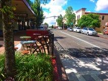 大街Katoomba蓝山山脉澳大利亚 库存照片