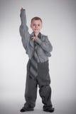 大衬衣的男孩 免版税图库摄影