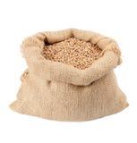 大袋麦子谷物 免版税库存照片