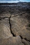 大裂缝 免版税图库摄影