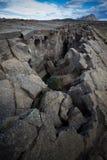 大裂缝 图库摄影