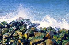 大西洋海浪 库存照片