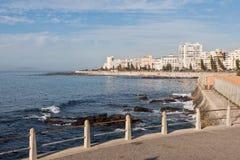 大西洋海角海洋岸城镇 库存照片