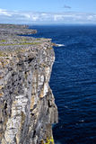 大西洋爱尔兰海洋俯视 免版税库存照片