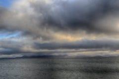 大西洋狂放的大西洋方式爱尔兰 库存图片