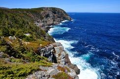 大西洋蓝色 库存照片
