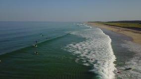 大西洋和波浪天线在鳕鱼角,麻省 影视素材