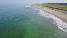 大西洋和波浪天线在鳕鱼角 影视素材