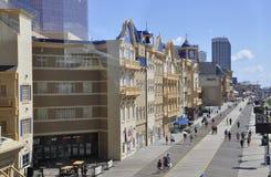大西洋城, 8月4日:赌博娱乐场和旅馆从大西洋城手段在新泽西 免版税图库摄影