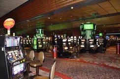 大西洋城, 8月4日:从大西洋城手段的赌博娱乐场内部视图在新泽西 免版税库存图片