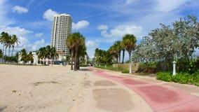 大西洋方式迈阿密海滩佛罗里达 股票录像