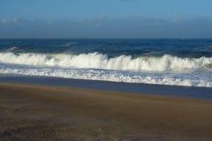 大西洋波浪 免版税库存图片
