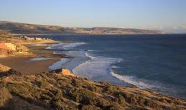 大西洋海岸,摩洛哥 库存照片