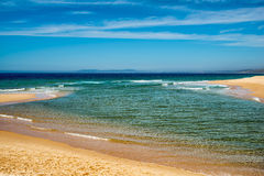 大西洋海滩,葡萄牙 免版税库存照片