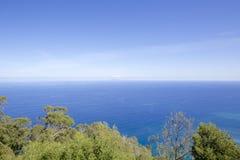 大西洋的看法 免版税库存照片