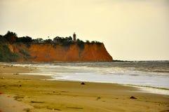 大西洋的风景在刚果 库存照片
