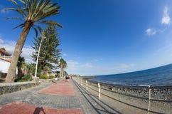 大西洋顶视图 免版税库存照片