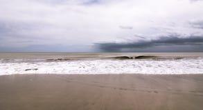 大西洋顶视图 免版税库存图片