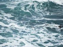 大西洋顶视图 库存图片