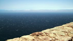 大西洋,在充分的hd的波浪 影视素材