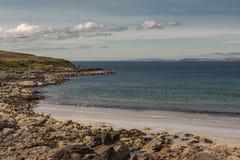 大西洋,苏格兰Enard海湾  图库摄影