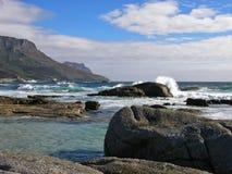 大西洋,阵营海湾海滩区域 免版税图库摄影