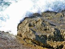 大西洋,阵营海湾海滩区域 免版税库存图片