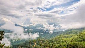 大角度看法自然风景 免版税库存图片
