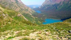 大角野绵羊冰川国家公园 库存图片